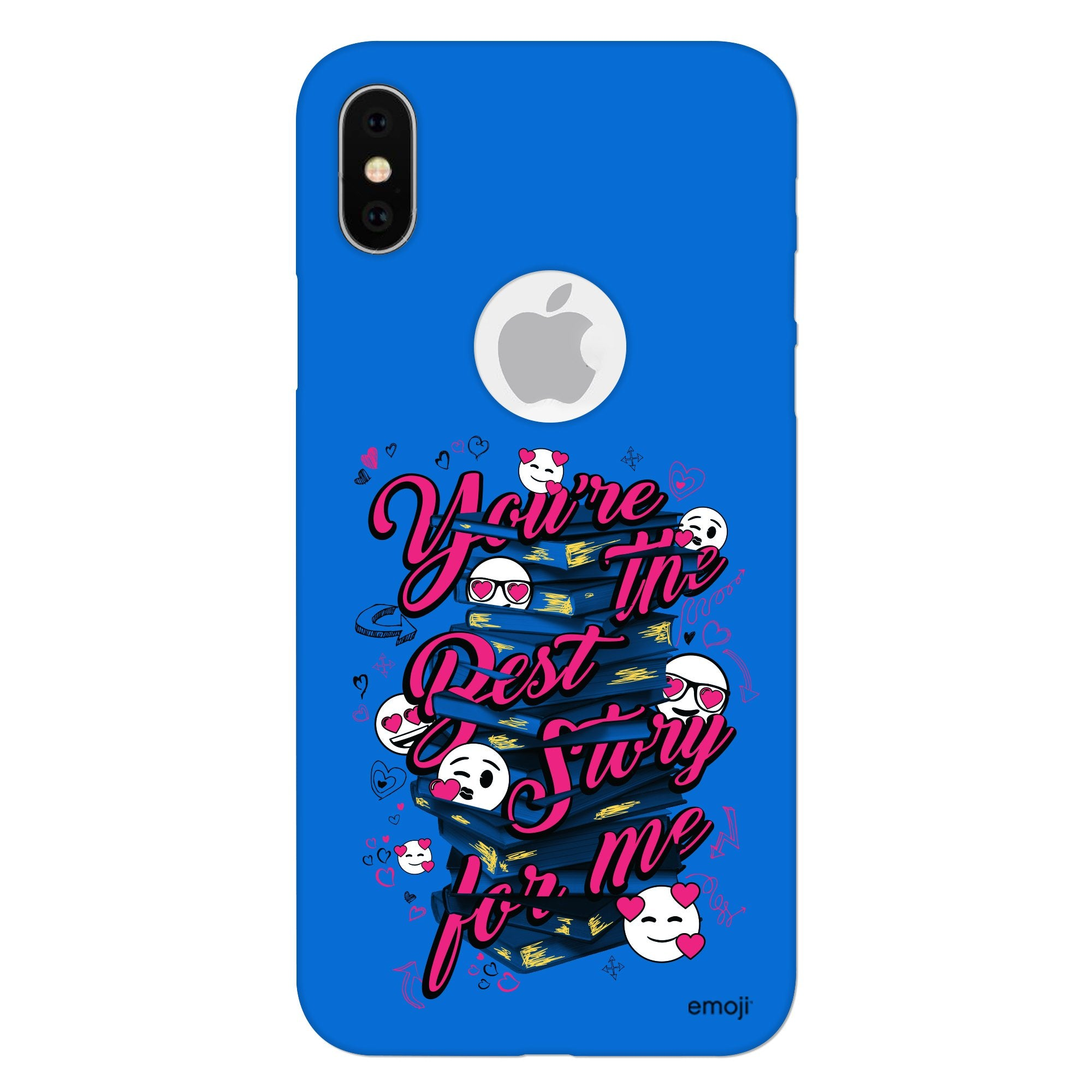 Official Licensed emoji Printed Mobile Case - You Are The Best