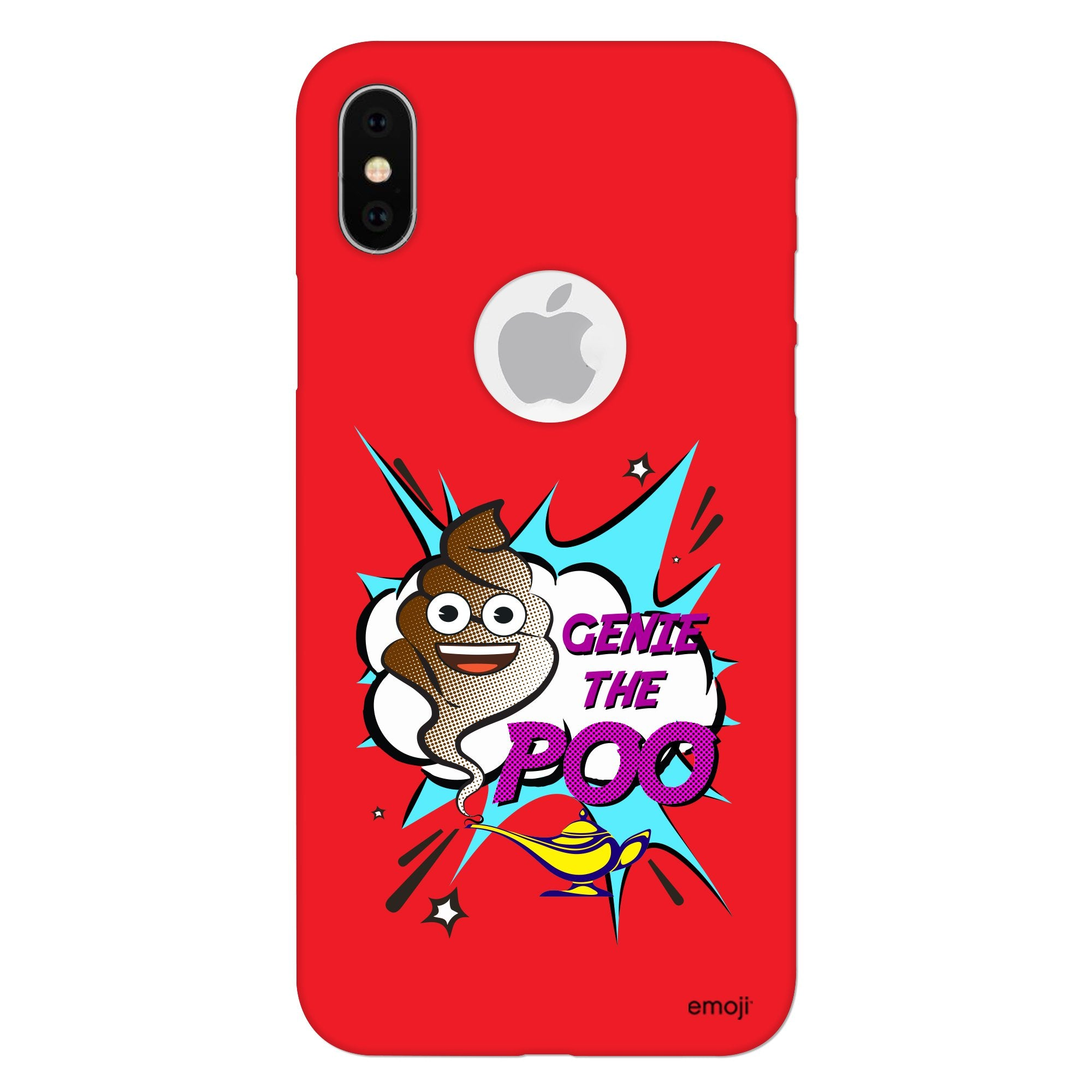 Official Licensed emoji Printed Mobile Case - Genie The Poo