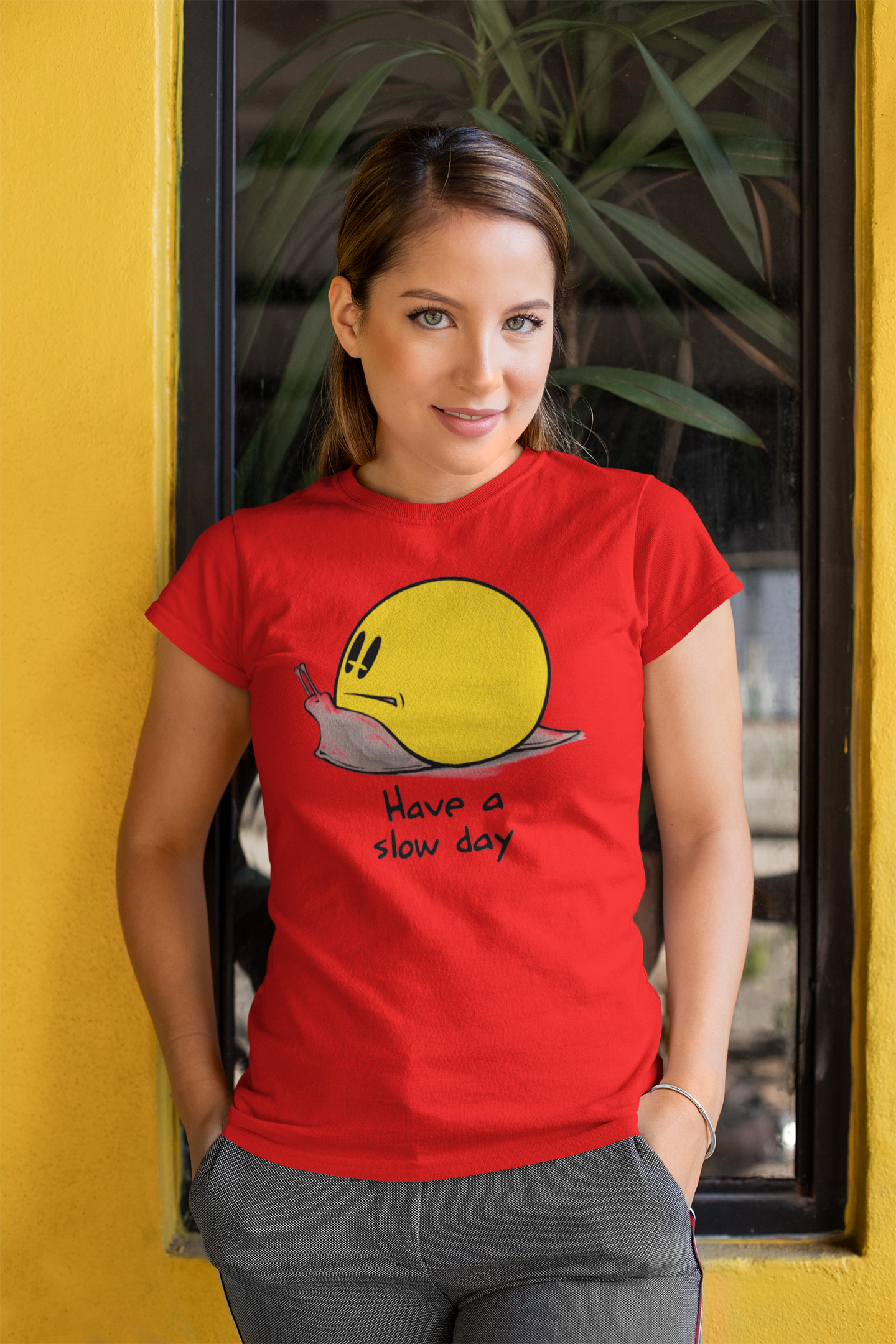 #LOL T-Shirts for Women - Have A Slow Day