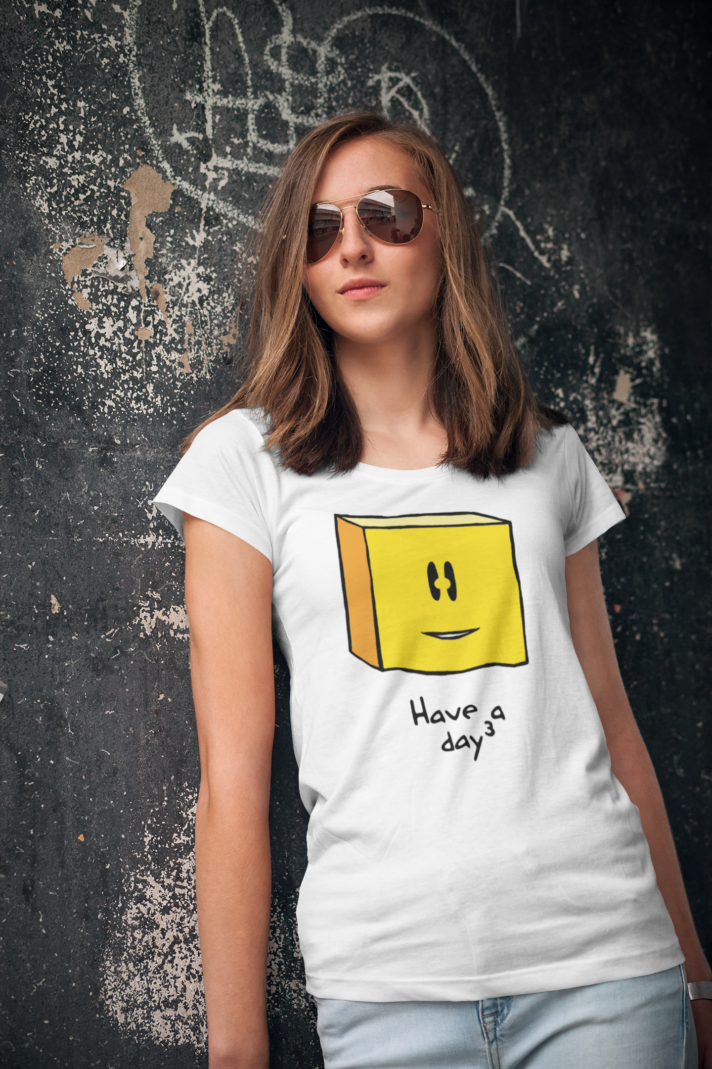 #LOL T-Shirts for Women - Have A Cubed Day