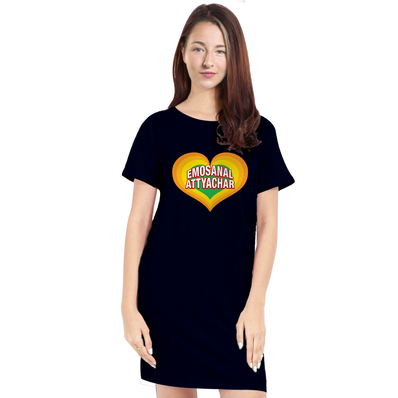 Bollywood T-Shirt Dresses for Women - Emotional Attyachar