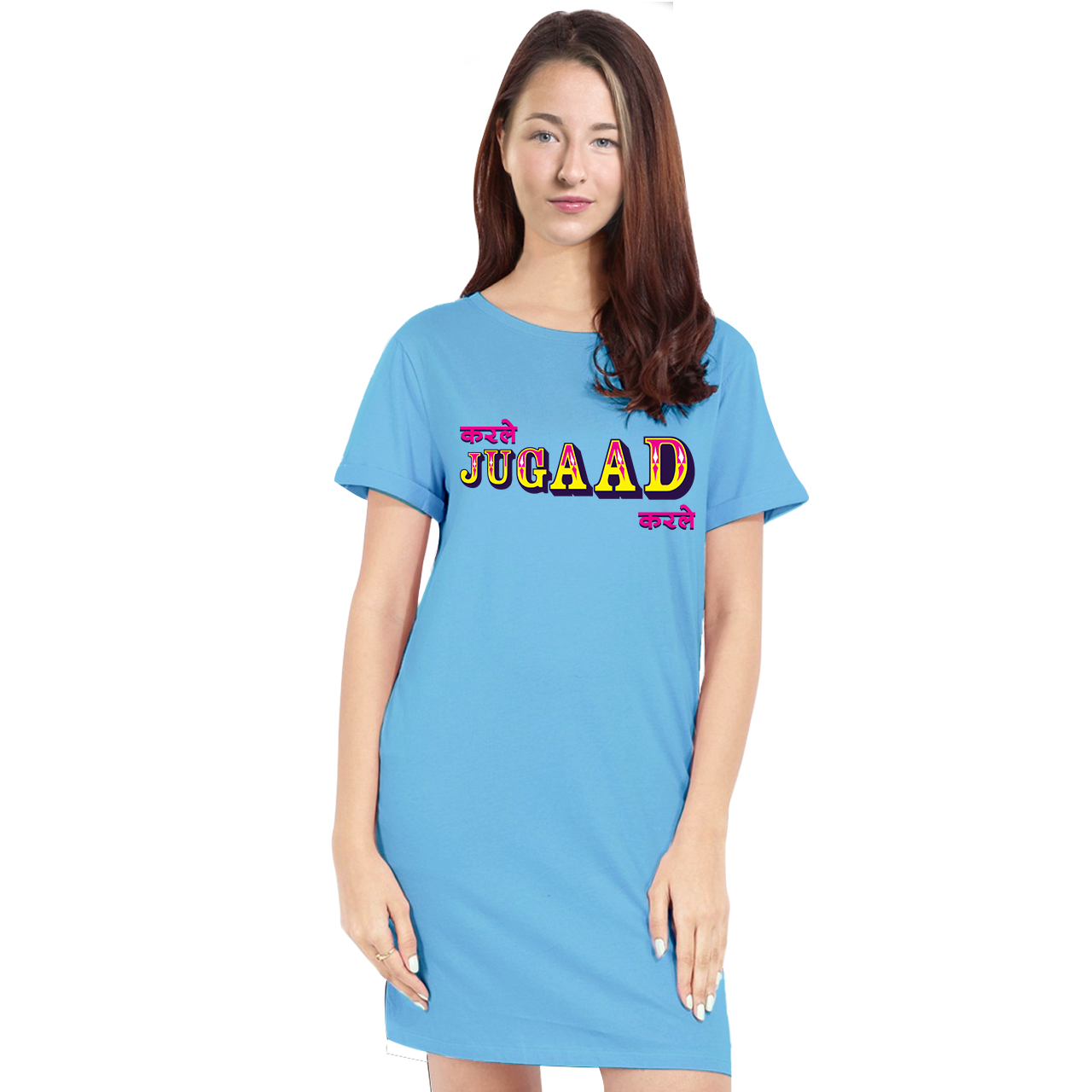 Bollywood T-Shirt Dresses for Women - Kar Le Jugaad