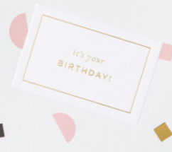 'It's Your Birthday' Card