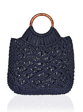 Load image into Gallery viewer, Macrame Tote