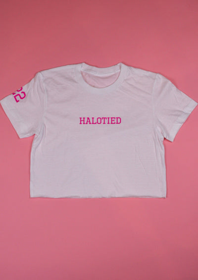 HALOTIED ATHLETICS BABY TEE