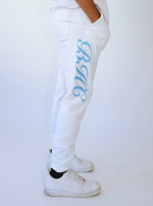 White Halotied x Beverly Hills Club Sweats
