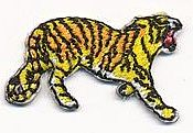 small tiger thread applique