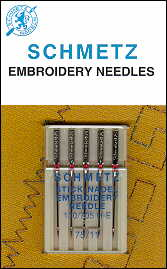 1745 embroidery schmetz schmetz needles 75 11