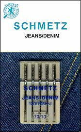 1780 jeans denim 70 10 schmetz needles