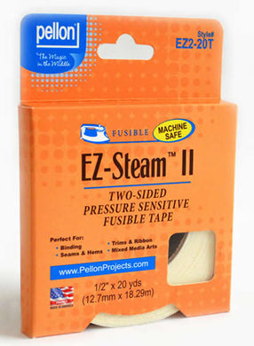 ez steam ii double stick fusible tape 20 ydsx.5 inch