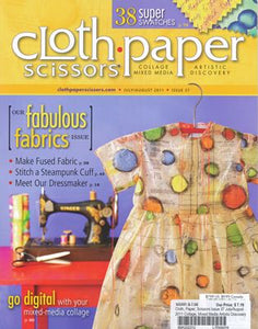 cloth paper scissors july aug issue 37