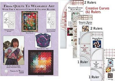 from quilts to wearable art super package book rulers