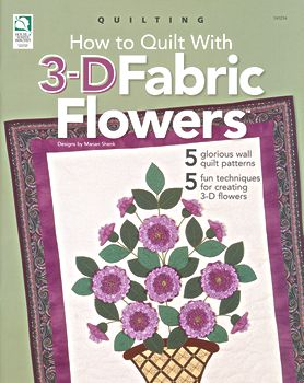 how to quilt with 3 d