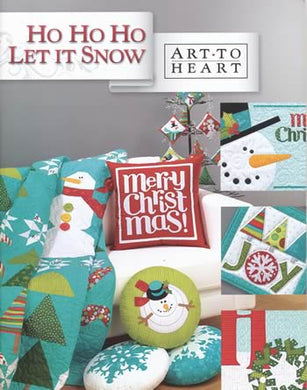 ho ho ho let it snow art to heart book nancy halvorsen