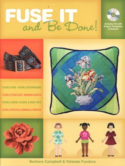 fuse it and be done with cd barbara campbell yolanda fundora home dcor andquilts