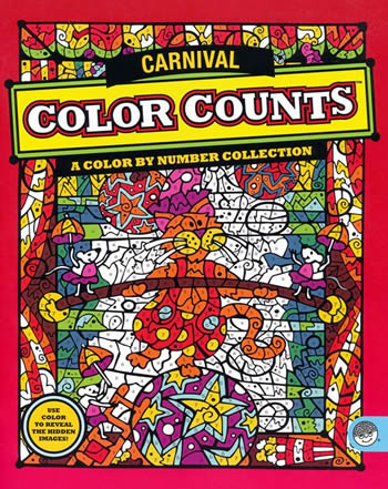 color count carnival coloring book mindware