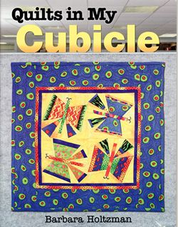 quilts in my cubicle