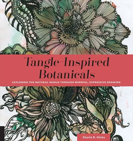 tangle inspired botanicals book cover