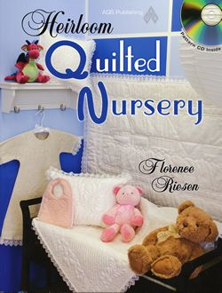 heirloom quilted nursery with pattern cd florence riesen