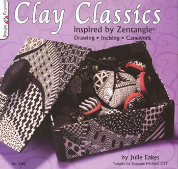 clay classics inspired zentangle