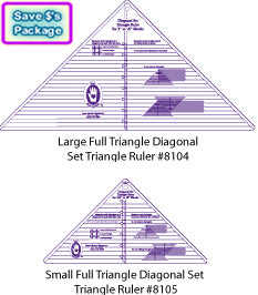 full triangle diagonal set rulers my favorite ruler