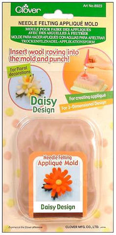 daisy needle felting mold