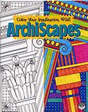 archiscapes coloring book mindware