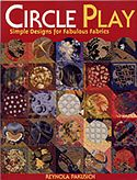 circle play simple designs for fabulous fabrics reynola pakusich