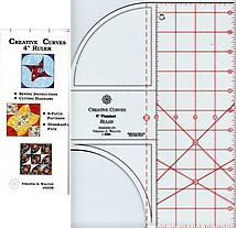 4 creative curves ruler