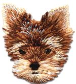 terrier thread applique