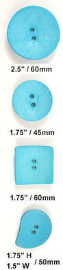 turquoise nesting buttons