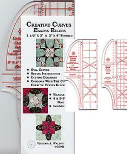 creative curve ellipse rulers
