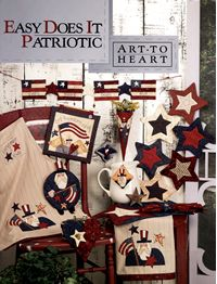 easy does it patriotic nancy halvorsen art to heart