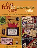 fast fun easy scrapbook quil