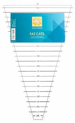 fat cats template wedge ruler