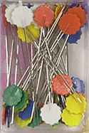 50 ct ezquilt flower head pins