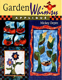 garden whimsy applique mickey depre