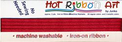 hot ribbon maroon 9