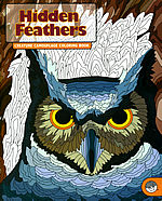 hidden feathers coloring book mindware