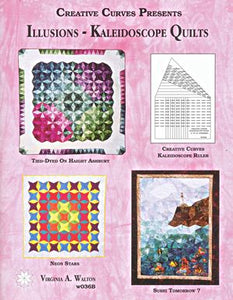 llusions kaleidoscope quilts book from creative curves