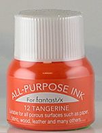 all purpose ink tsukineko ink 12 tangerine