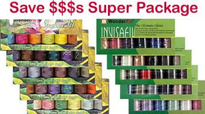 10 pack invisafil super package