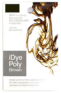 brown idye poly