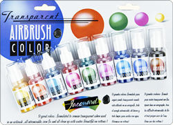 transparent airbrush colors exciter pack