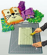 Load image into Gallery viewer, Fringe Cut Slotted Ruler by June Tailor, Size 6 in.  x 12 in.