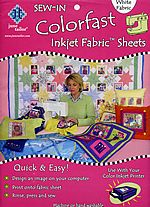 colorfast printer fabric sheets 8.5x11 june tailor