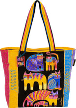 Load image into Gallery viewer, lb5121 fantastic fel totem bag laurel burch designe