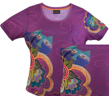 carlottas cats laurel burch t shirt