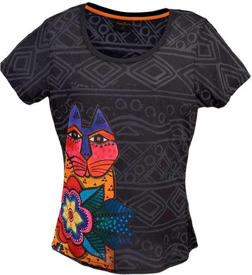 mara,laurel burch t shirt