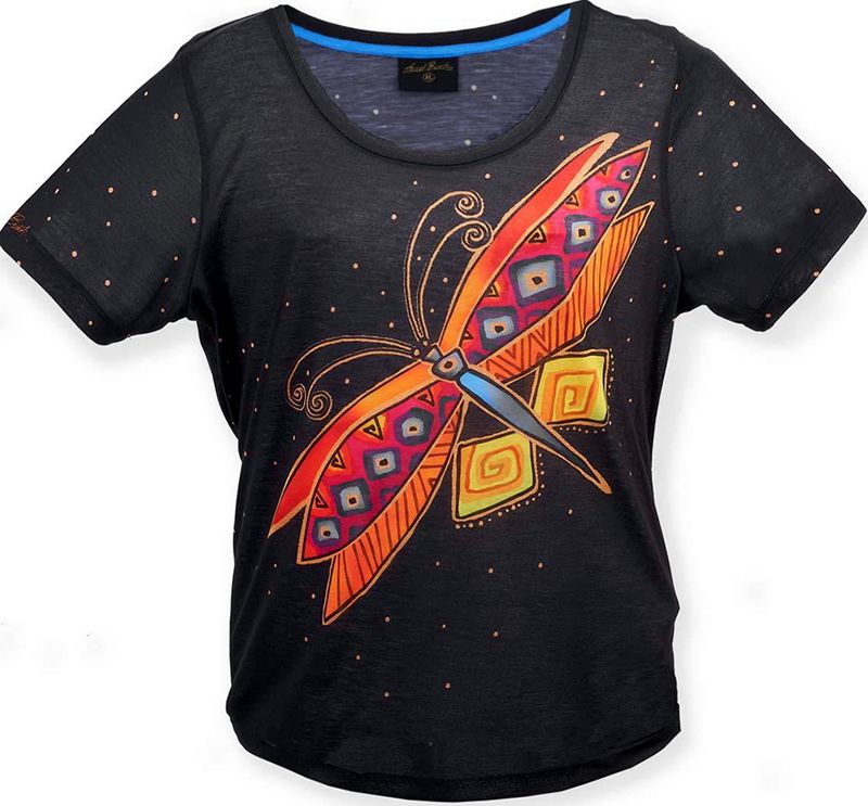 dragonfly laurel burch t shirt